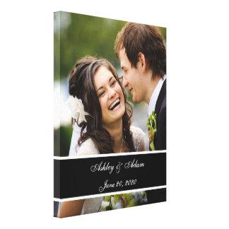 De Gepersonaliseerde Herinnering van het Huwelijk  Canvas Afdrukken