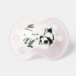 De gepersonaliseerde Leuke Fopspenen van de Panda