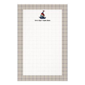 De gepersonaliseerde ZeevaartJongen van het Briefpapier
