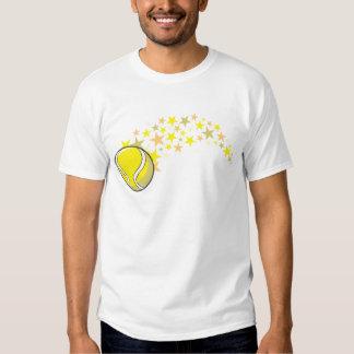 De glanzende Ster van de Bal van het Tennis T Shirts