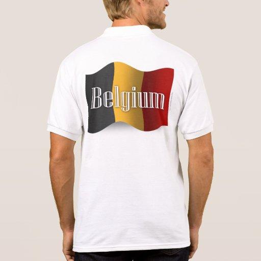 De Golvende Vlag van België Polo Shirt