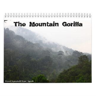 De gorilla van de Berg Kalender
