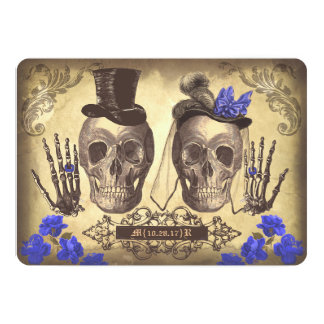 De gotische Dag van het Paar van de Schedel van Kaart