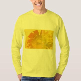 De Gouden Verhouding van de zonnebloem Tshirt