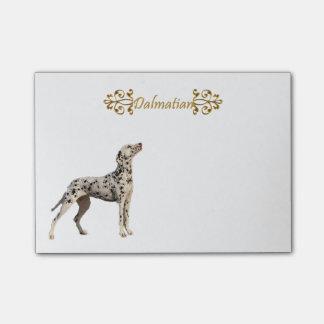 De grappige Dalmatische Vlekken van de Spin Post-it® Notes