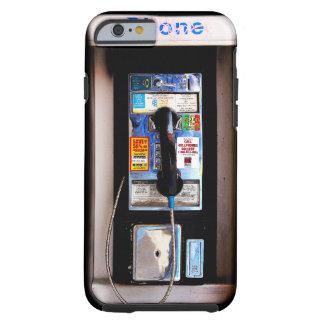De grappige Foto van de Publieke telefooncel van Tough iPhone 6 Hoesje