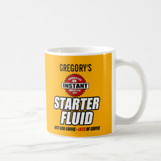 De grappige Gepersonaliseerde Vloeistof van de Koffiemok