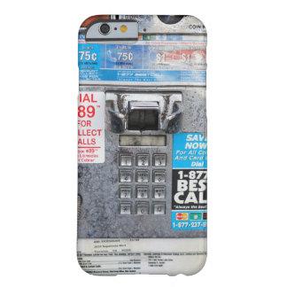 De grappige Openbare Cabine van de Publieke Barely There iPhone 6 Hoesje