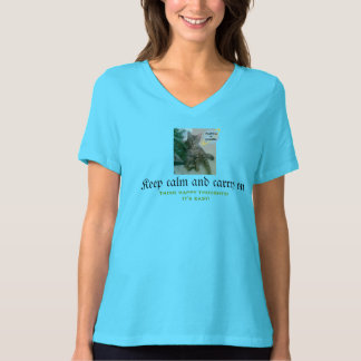 De grappige T-shirt van de Kat (de rust van het