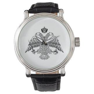 De Griekse Orthodoxe vlag van de Kerk zet Horloges