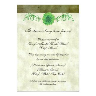 De groene Aankondiging van het Huwelijk van de