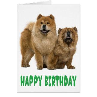 De groene Gelukkige Hond van het Puppy van de Briefkaarten 0