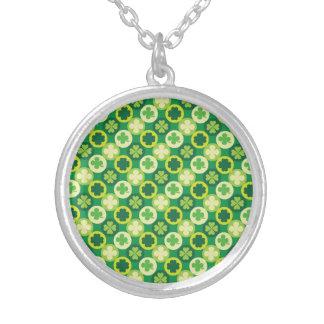 De groene Klaver en de Cirkels van Vier Blad Ketting