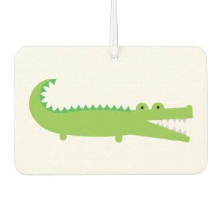 De groene KrokodilleVerfrissing van de Lucht van Luchtverfrisser