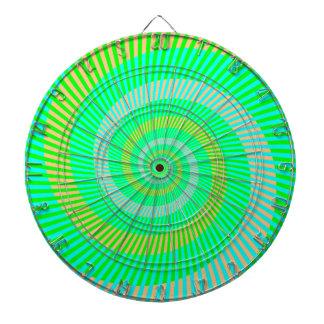 De Groene Spiralen van het Dartboard van Dartbord