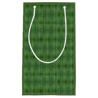 De groene Zak van de Gift van het Patroon van het Klein Cadeauzakje