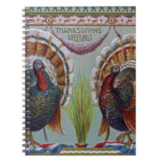 De Groeten 1906 van de Thanksgiving Notitieboek
