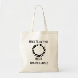 De Grootste Latijnse Leraar van de wereld (Vrouw) Draagtas