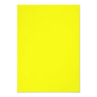 De heldere Gele Uitnodiging van het Neon