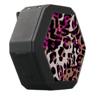 De hete Roze Bruine Samenvatting van de Zwarte Bluetooth Speaker