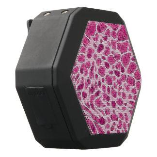 De hete Roze Dierlijke Samenvatting van de Druk Zwarte Bluetooth Speaker