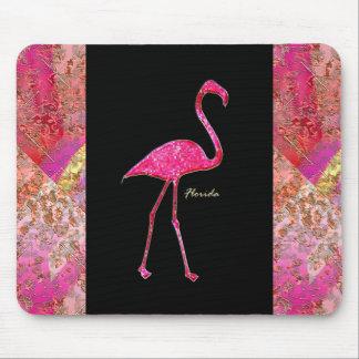 De Hete Roze Flamingo van Florida Muismat