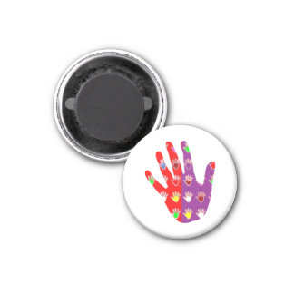 De hifi High5 HighFIVE HAND des cadeaux giet tous Magneet