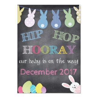 De hip hop faire-part de grossesse de Pâques