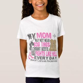 De hond etiketteert het Mamma van Kanker van de T Shirt