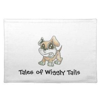De Hond Placemat van de Mascotte TOWT