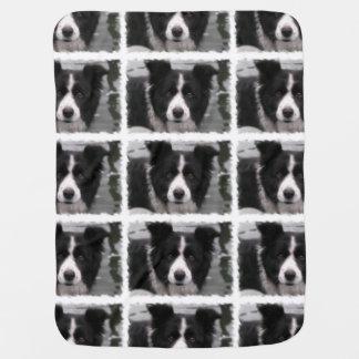De Hond van border collie Inbakerdoek