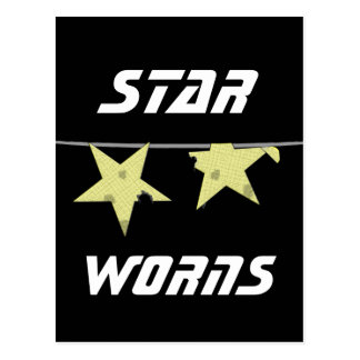 De Humor van Worns van de ster Wens Kaart