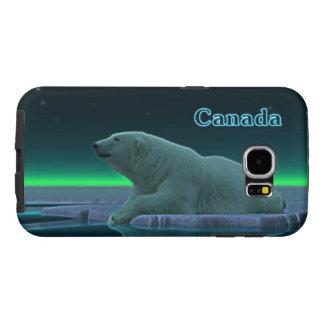 De ijsbeer van de Rand van het ijs Samsung Galaxy S6 Hoesje