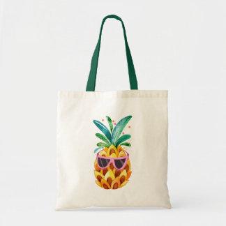 De Illustratie van de Ananas van de waterverf Draagtas