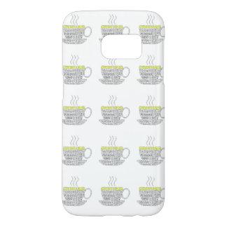 De inhoud is de Melkweg van koningsSamsung S7, Samsung Galaxy S7 Hoesje