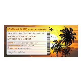 de instapkaart bewaart de datumkaartjes met kaart