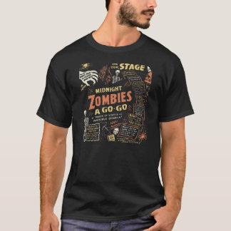 "de jaren '50 Beatnik ""Zombieën gaan-gaan"" T-shirt"