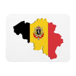 De kaart van België Magneten