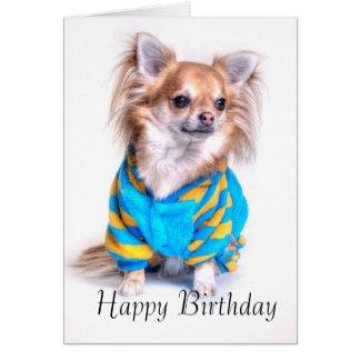 De Kaart van de Verjaardag van Chihuahua