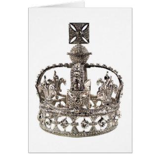 De Kaart van het Diamanten jubileum van koningin