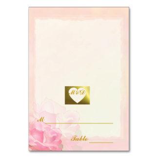 De Kaarten van de Plaats van het huwelijk   Roze