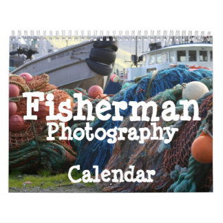 De Kalender van de Fotografie van de visser