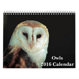 De Kalender van uilen 2016