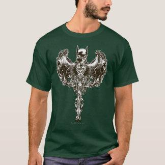 De Kap van Batman en CREST van de Schedel T Shirt