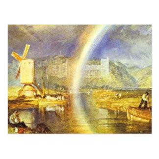 de keerder arundel kasteel van William, met Briefkaart