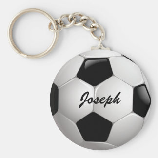 De klantgerichte Bal van het Voetbal Sleutelhanger