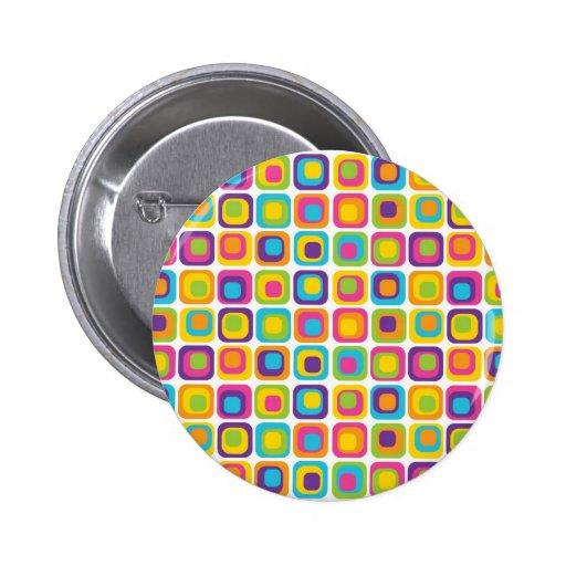 De kleurrijke Moderne Giften van het Patroon van h Button