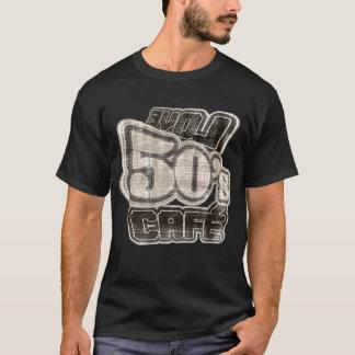 De Koffie van de jaren '50 van de liefde Vintage T Shirt