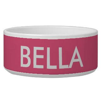 De kom van de hond voor BELLA