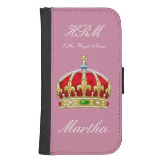 De koningin Phone Wallet Galaxy S4 Portefeuille Hoesje